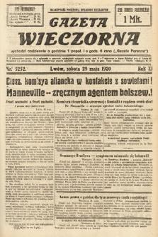 Gazeta Wieczorna. 1920, nr5252