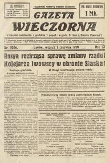 Gazeta Wieczorna. 1920, nr5256