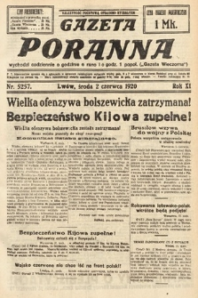 Gazeta Poranna. 1920, nr5257