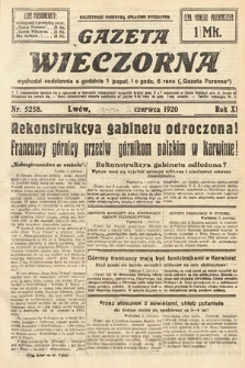 Gazeta Wieczorna. 1920, nr5258