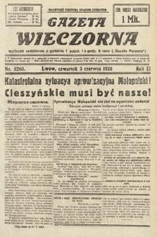 Gazeta Wieczorna. 1920, nr5260