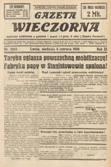 Gazeta Wieczorna. 1920, nr5265