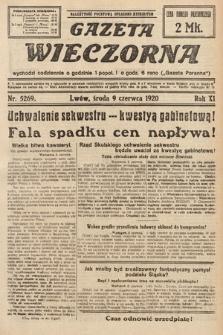 Gazeta Wieczorna. 1920, nr5269
