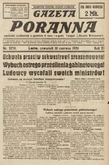 Gazeta Poranna. 1920, nr5270