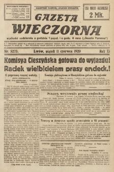 Gazeta Wieczorna. 1920, nr5273