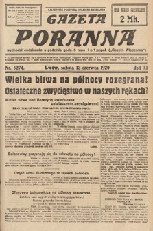 Gazeta Poranna. 1920, nr5274