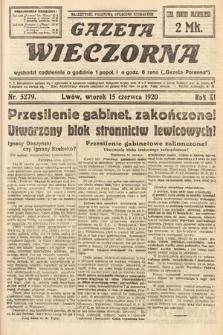 Gazeta Wieczorna. 1920, nr5279