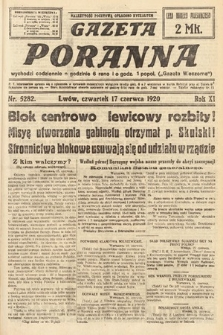 Gazeta Poranna. 1920, nr5282