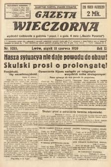 Gazeta Wieczorna. 1920, nr5285