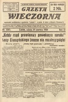 Gazeta Wieczorna. 1920, nr5287