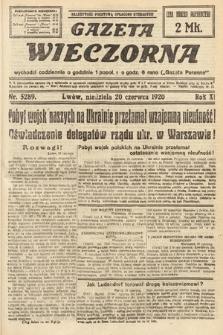 Gazeta Wieczorna. 1920, nr5289