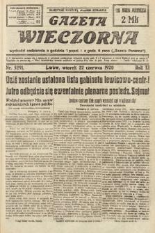 Gazeta Wieczorna. 1920, nr5291
