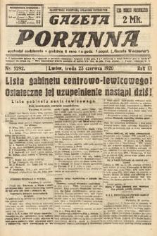 Gazeta Poranna. 1920, nr5292