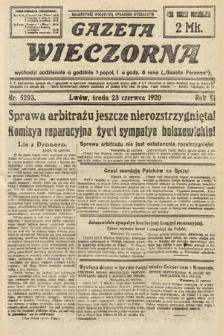 Gazeta Wieczorna. 1920, nr5293