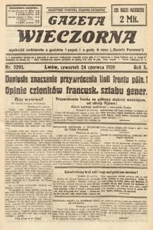 Gazeta Wieczorna. 1920, nr5295