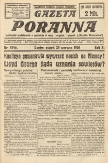 Gazeta Poranna. 1920, nr5296