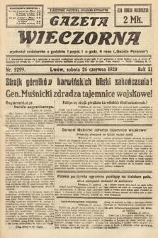 Gazeta Wieczorna. 1920, nr5299