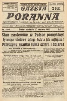 Gazeta Poranna. 1920, nr5300