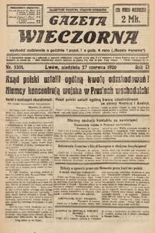 Gazeta Wieczorna. 1920, nr5301