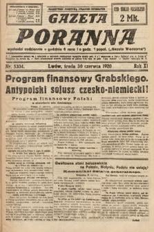Gazeta Poranna. 1920, nr5304