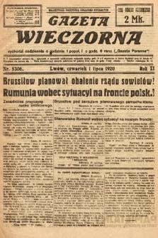 Gazeta Wieczorna. 1920, nr5306
