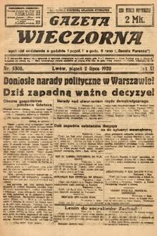 Gazeta Wieczorna. 1920, nr5308