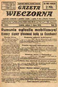 Gazeta Wieczorna. 1920, nr5310