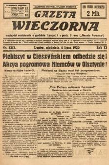 Gazeta Wieczorna. 1920, nr5312