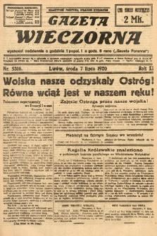 Gazeta Wieczorna. 1920, nr5316