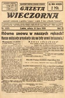 Gazeta Wieczorna. 1920, nr5322