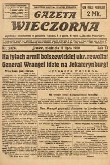 Gazeta Wieczorna. 1920, nr5324