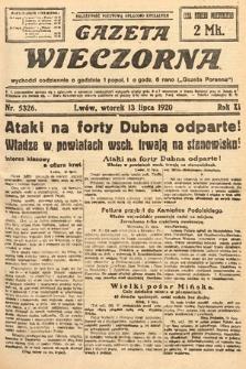 Gazeta Wieczorna. 1920, nr5326
