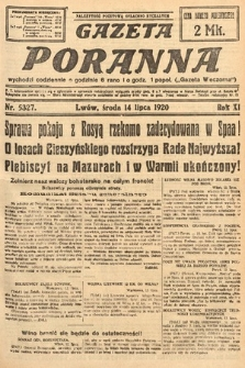 Gazeta Poranna. 1920, nr5327
