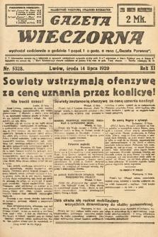 Gazeta Wieczorna. 1920, nr5328
