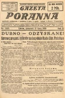 Gazeta Poranna. 1920, nr5329