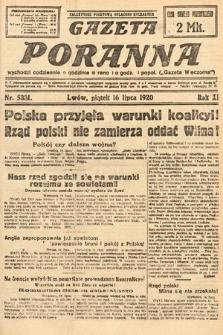 Gazeta Poranna. 1920, nr5331