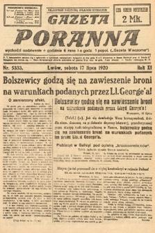 Gazeta Poranna. 1920, nr5333
