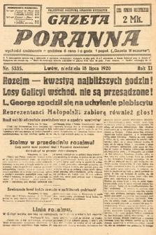 Gazeta Poranna. 1920, nr5335
