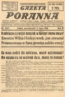 Gazeta Poranna. 1920, nr5337