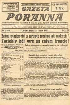 Gazeta Poranna. 1920, nr5339