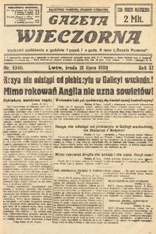 Gazeta Wieczorna. 1920, nr5340