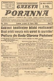 Gazeta Poranna. 1920, nr5343