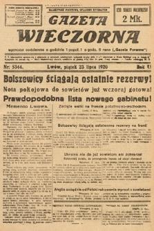 Gazeta Wieczorna. 1920, nr5344