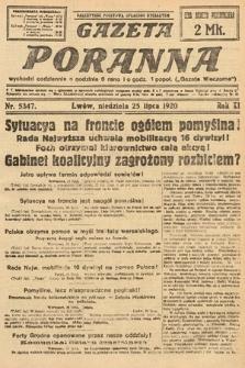 Gazeta Poranna. 1920, nr5347