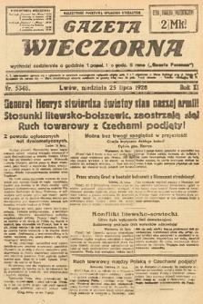 Gazeta Wieczorna. 1920, nr5348