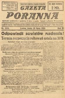 Gazeta Poranna. 1920, nr5351