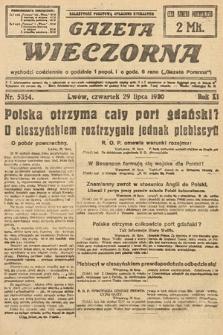 Gazeta Wieczorna. 1920, nr5354