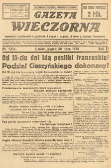 Gazeta Wieczorna. 1920, nr5356