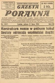 Gazeta Poranna. 1920, nr5357