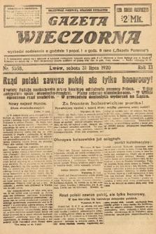 Gazeta Wieczorna. 1920, nr5358